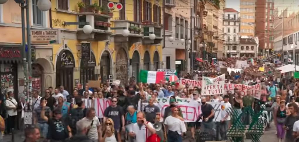 Green pass, Procura Torino: Oscurare canale Telegram 'Basta dittatura'