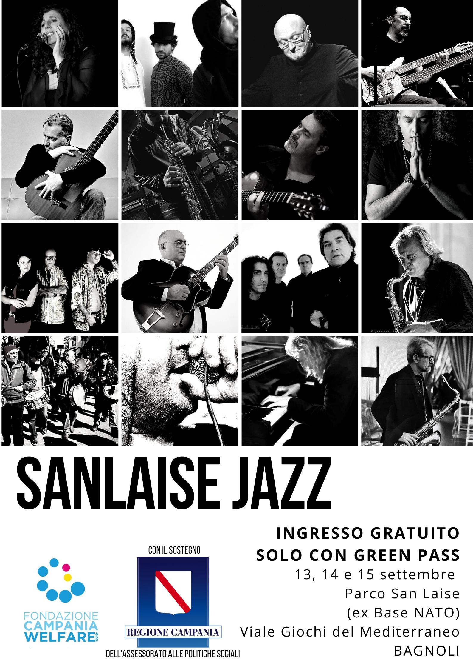 Napoli, Bagnoli: Festival San Laise Jazz 2021