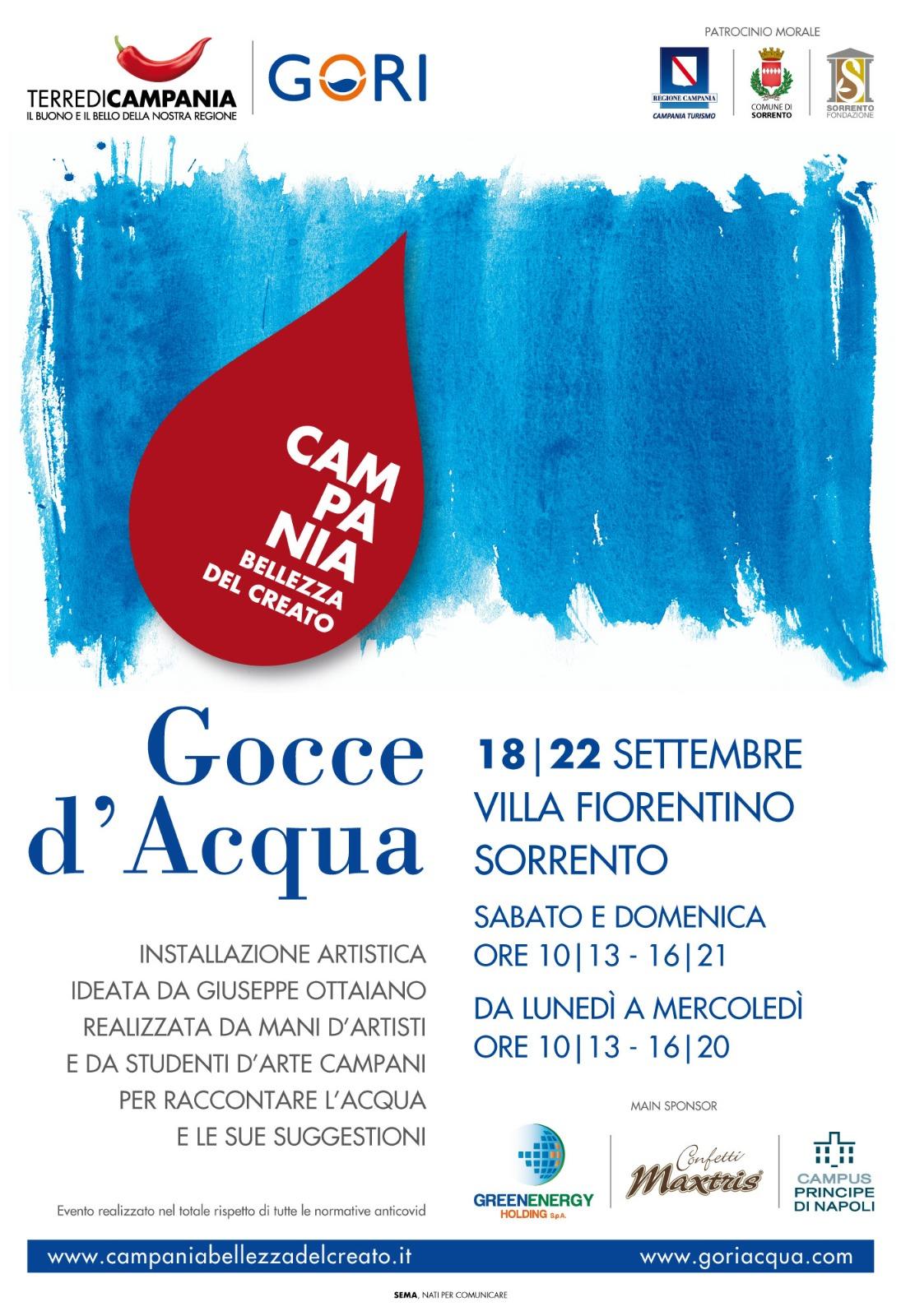 "A Sorrento ""Gocce d'Acqua"""