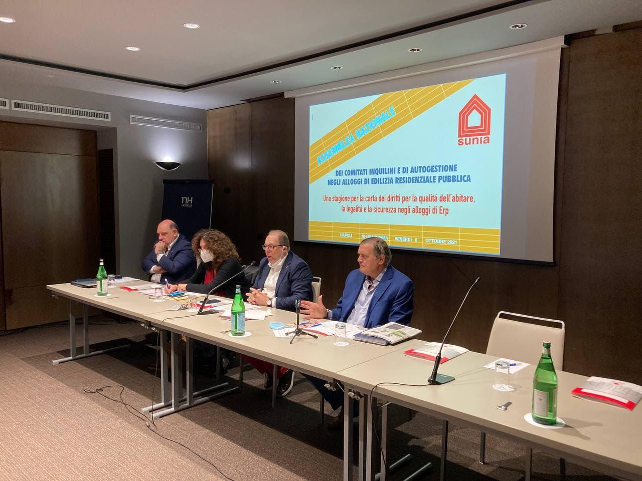 A Napoli l'assemblea nazionale del sindacato unitario inquilini e affittuari